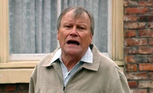 Coronation Street's Roy Cropper swindled by Jude Appleton