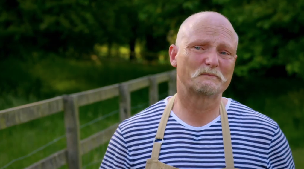 Bake Off fans in tears as Terry reveals show helped him cope with wife's death