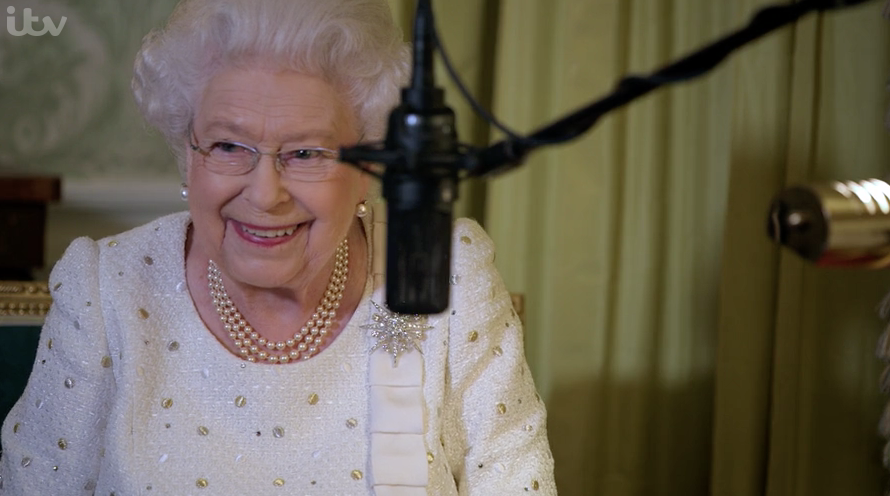 The Queen forced to re-record speech after interruption by BIRDS
