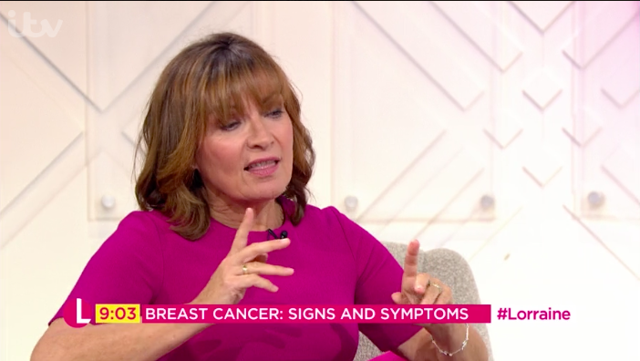 Viewers react to bare boobs on Lorraine!