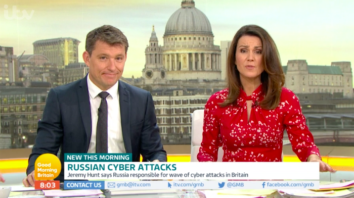 Susanna Reid forced to apologise for blunders live on air