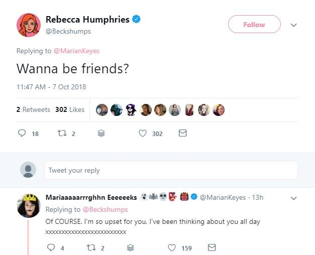 Rebecca Humphries Responds To Seann Walsh's 'Awkward' Second Apology