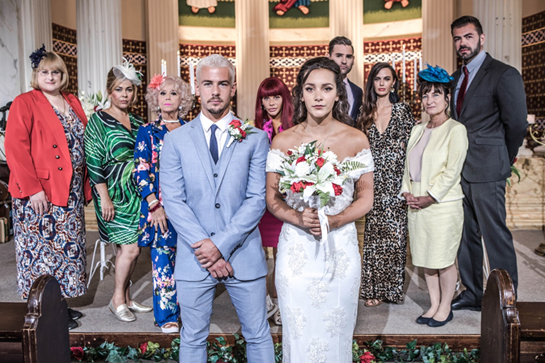 Hollyoaks to air special episode for Cleo and Joel's wedding