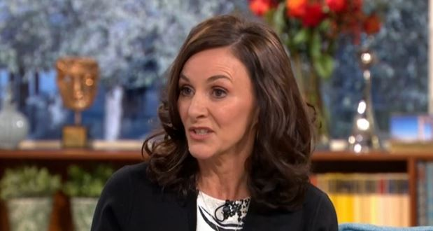 "Strictly head judge Shirley Ballas ""dodges"" questions on Seann and Katya's kiss"