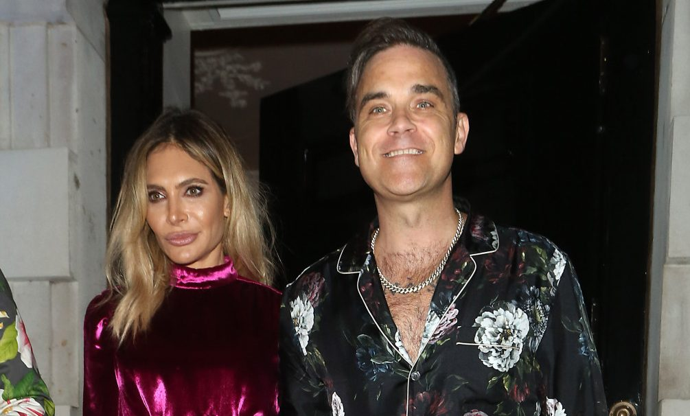 Robbie Williams and wife Ayda 'happier' in marriage after X Factor jobs