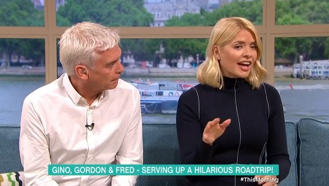 Phillip Schofield rules out Gino D'Acampo as Holly Willoughby's replacement