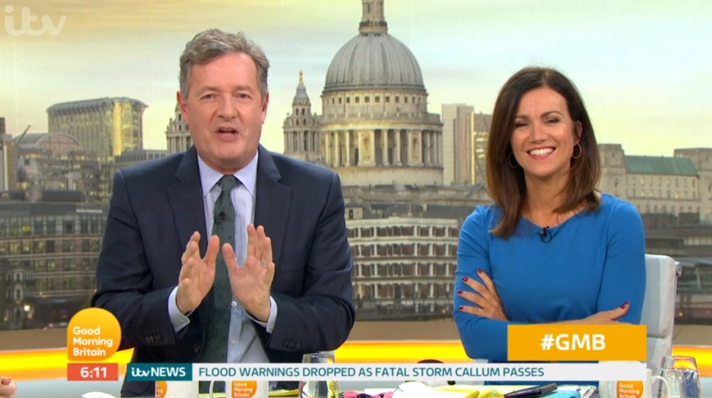"Piers Morgan hopes Strictly's Seann and Katya ""have full sex"" next"