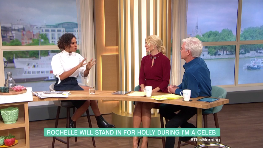 Rochelle Humes confirmed as Holly Willoughby's This Morning replacement