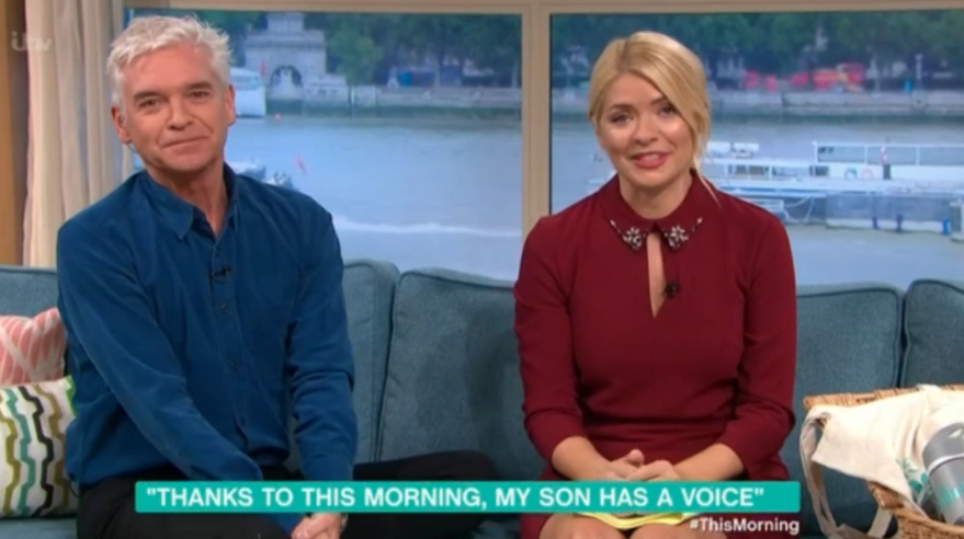 Phillip and Holly meet autistic superfan, 10, in This Morning's most moving movement