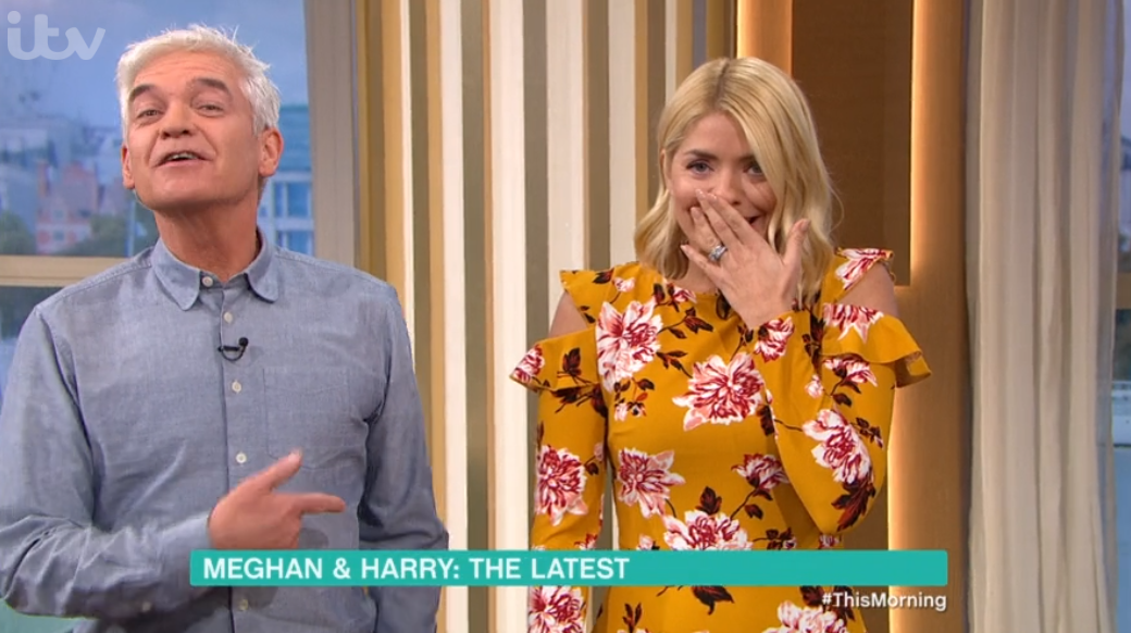 Phillip mocks Holly as she slips into Aussie accent ahead of I'm A Celeb stint
