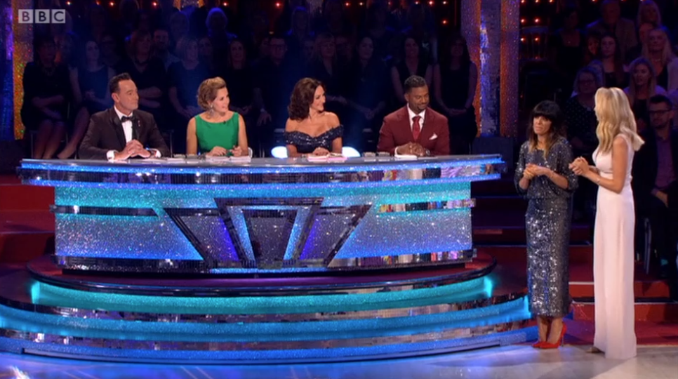 Strictly viewers frustrated by judge's repeated blunders