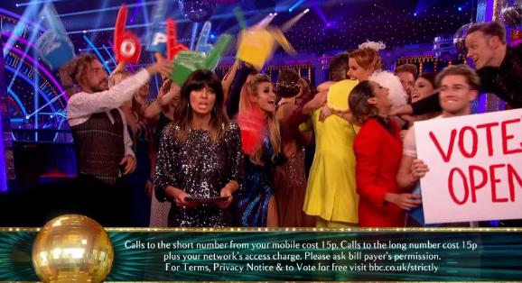Strictly fans melt as estranged couple Karen and Kevin Clifton hug on air