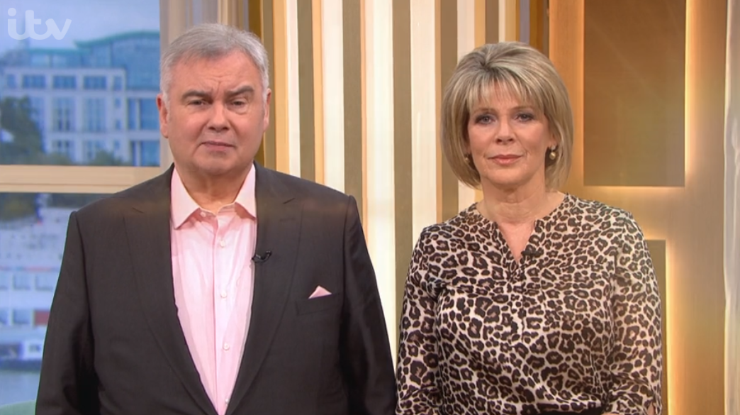 Eamonn Holmes reveals he was hospitalised after panic attack on air