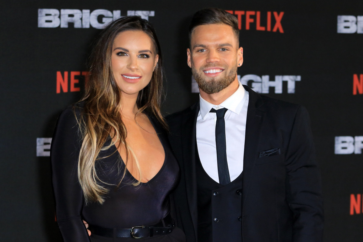 First Photo From Love Island S Jess Shears And Dom Lever Wedding