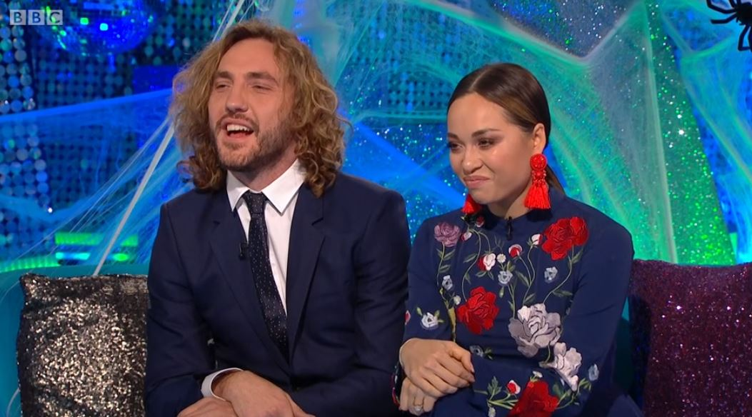 'Strictly' Curse couple Seann Walsh and Katya Jones are finally out