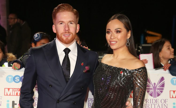 Neil and Katya Jones won't be on the Strictly tour
