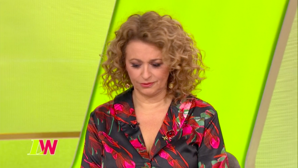 Loose Women's Nadia Sawalha is growing a moustache