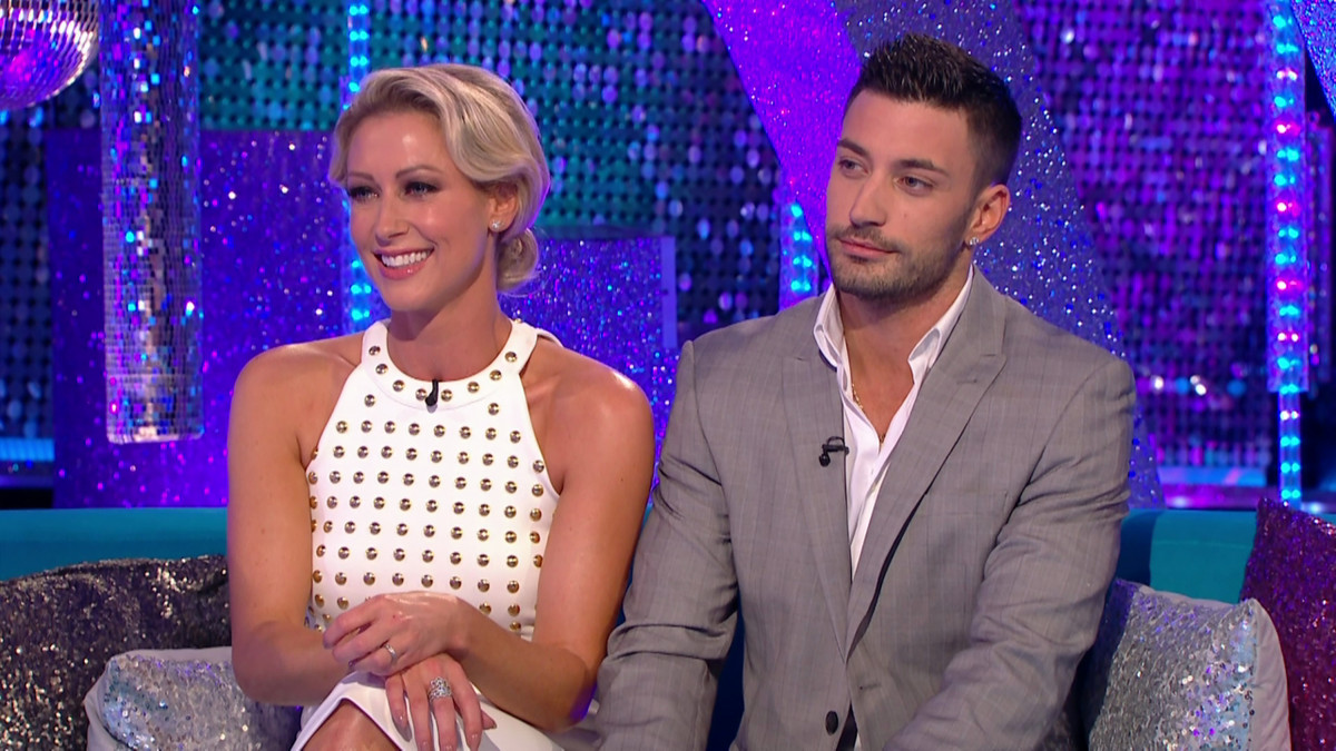 Faye Tozer and Giovanni Pernice 'clash' ahead of Strictly final