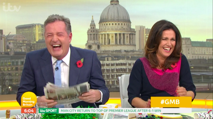 Piers Morgan 'reveals' how Susanna Reid REALLY lost 23lbs!
