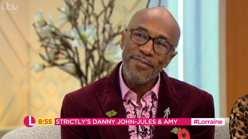 Danny John-Jules admits he doesn't socialise with his Strictly co-stars