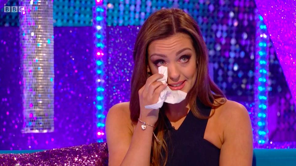 Strictly's Danny John-Jules skips interview as dance partner Amy breaks down in tears
