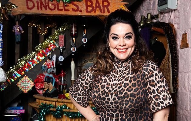 "Lisa Riley shares ""absolute joy"" at being back on Emmerdale set as Mandy Dingle"