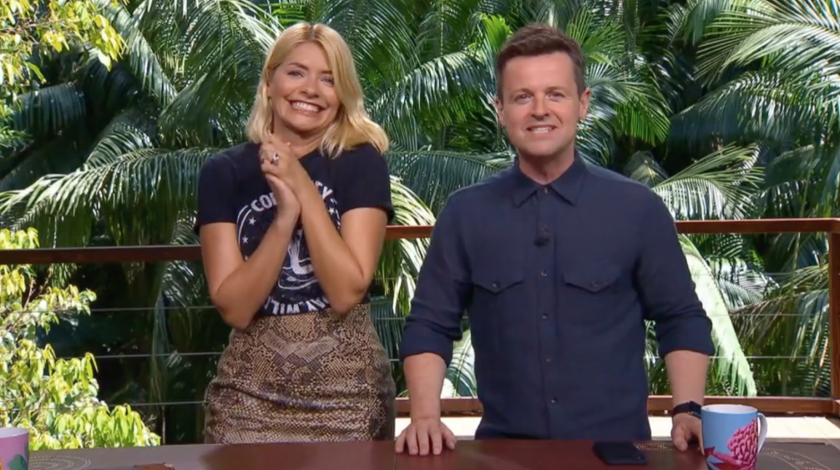 I'm A Celeb fans split over first glimpse of Holly and Dec