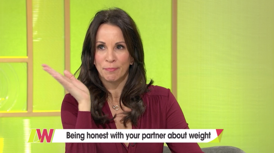 "Andrea McLean ""fat-shamed"" by ex-husband who replaced biscuits with rice cakes"
