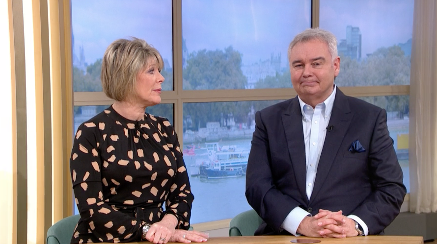 Eamonn Holmes makes huge blunder on This Morning