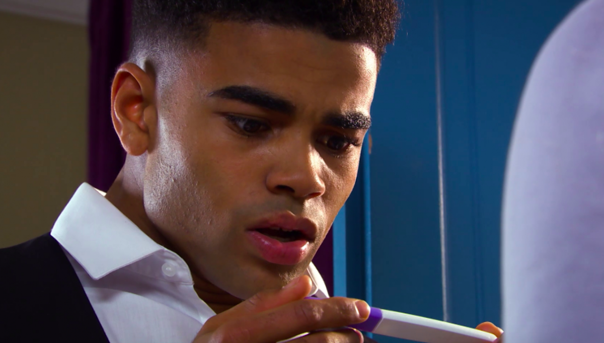I'm A Celeb's Malique Thompson-Dwyer's heartbreaking Hollyoaks cancer storyline