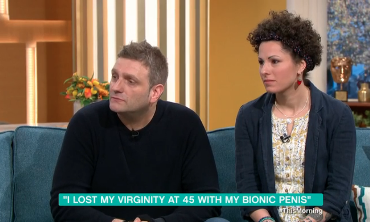 Man with bionic penis reveals he had an erection for three weeks