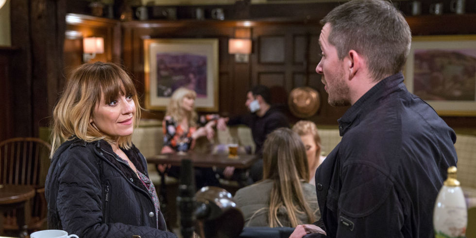 "Emmerdale fans accuse Rhona and Pete of having ""no chemistry"" as Dawn threatens their relationship"