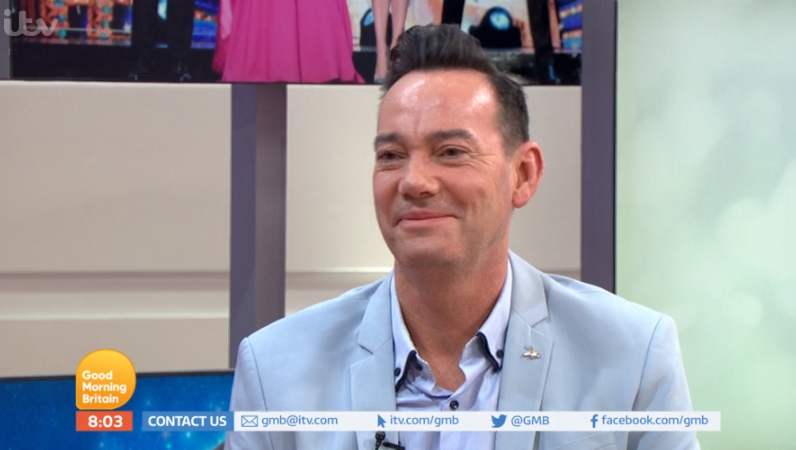 Craig Revel Horwood made his boyfriend sign a non-disclosure agreement