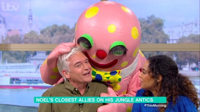 Mr Blobby exacts revenge on This Morning after Noel Edmonds 'attack'