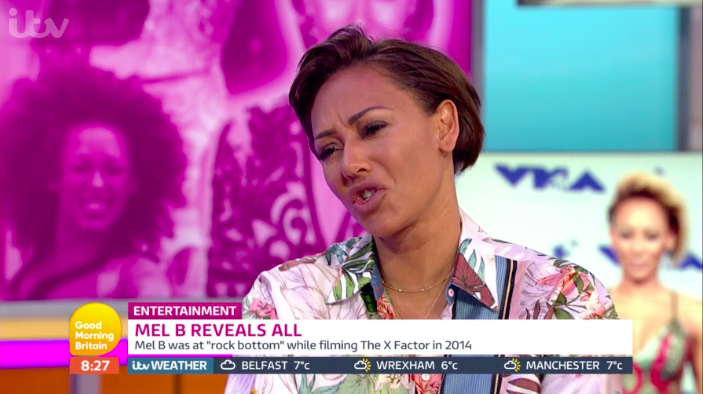 Mel B visibly angry with Susanna Reid during awkward Good morning Britain interview