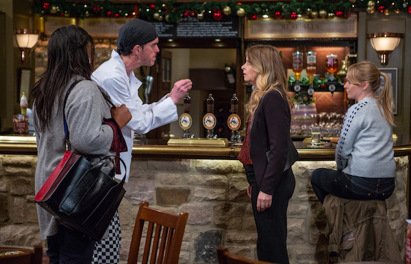 Emmerdale SPOILER: Charity punches Marlon
