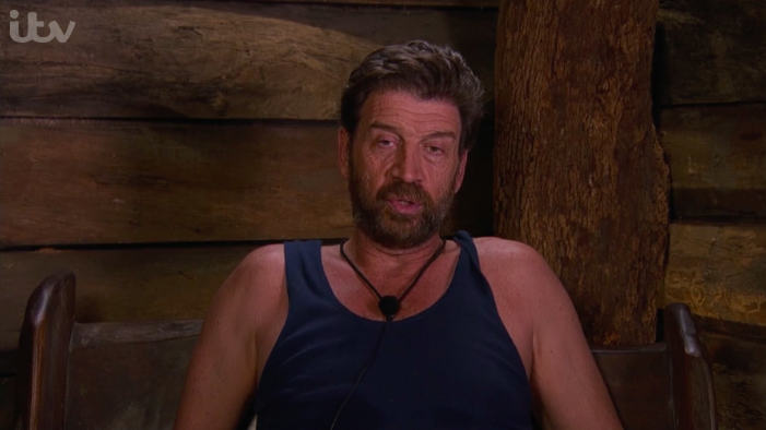 Nick Knowles had blazing rows on I'm A Celebrity that weren't shown on TV