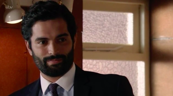Corrie fans crushing on Imran in his pants as relationship with Toyah is exposed
