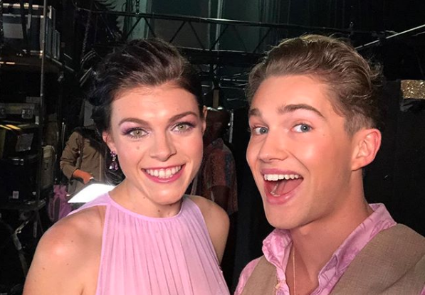 AJ Pritchard admits he's been struck by the Strictly curse