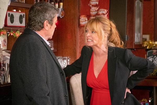 Coronation Street SPOILER: Jenny catches Johnny and Liz!