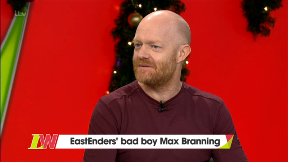 When will Jake Wood return to EastEnders after Max Branning break?