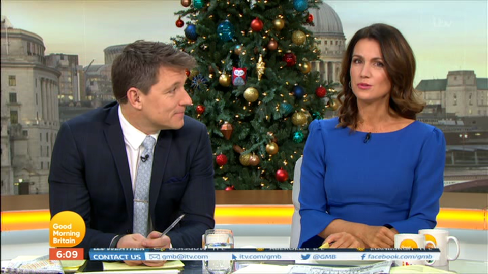 Susanna Reid says the thought of marriage brings her out in hives