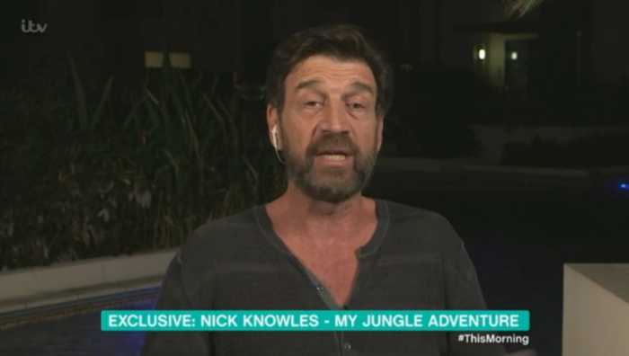 Nick Knowles publicly apologises to fans for budgie smugglers on I'm A Celeb