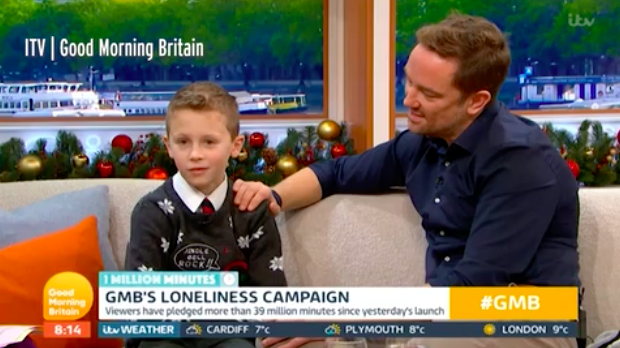 GMB viewers in tears as Simon Thomas' son Ethan opens up about mum's death