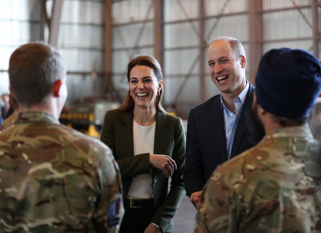 'Royal Mail' Christmas delivery as duke and duchess visit troops in Cyprus""