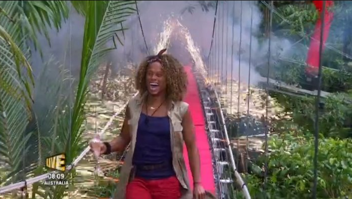 """Fleur East can't wait to scoff """"dirty"""" pizza after leaving I'm A Celebrity"""