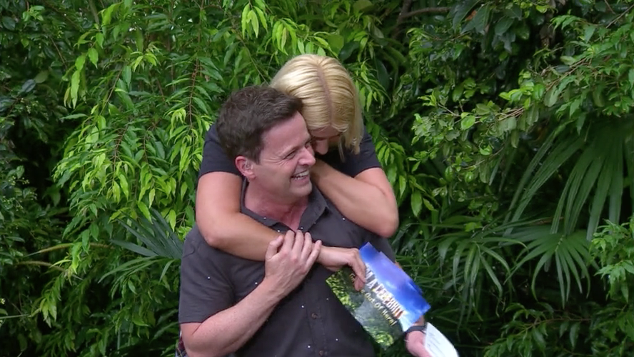 Phillip Schofield couldn't breathe watching Holly Willoughby's I'm A Celeb final-night antics