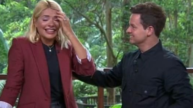 Holly Willoughby's Bushtucker trial tears the I'm A Celebrity cameras didn't show
