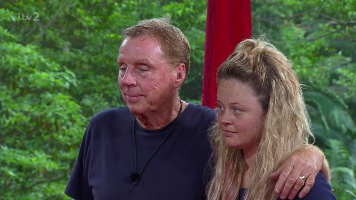 I'm A Celeb's Harry Redknapp says son Jamie 'couldn't pull' Emily Atack