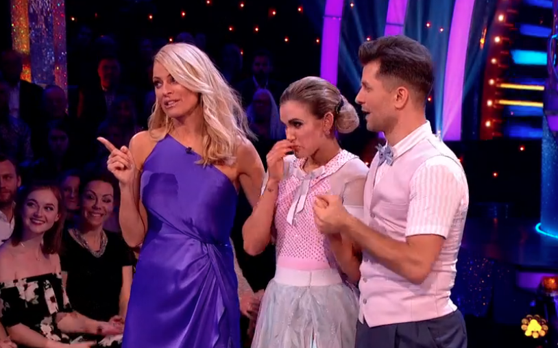Tess Daly urges Strictly viewers to get behind Ashley Roberts